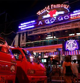 Bangla Road à Patong