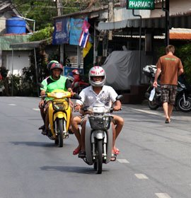 Location de scooter à Phuket